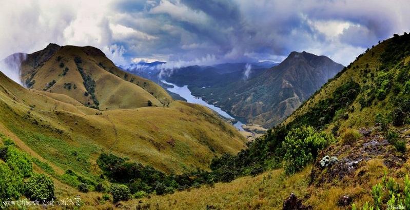 From Mukurthi Peak, Mukurthi National Park