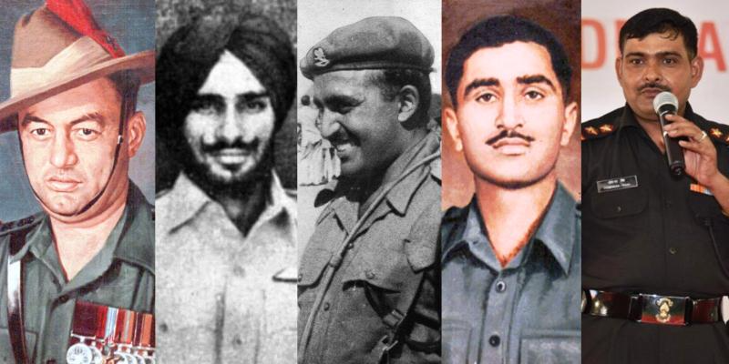 Top 10 First Param Vir Chakra Winners